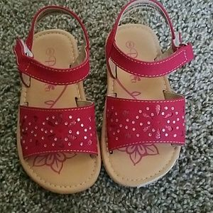 Other - Red toddler sandles size 8